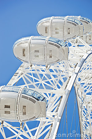 London eye details Editorial Photography
