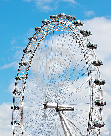 London Eye details Editorial Image
