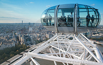 The London Eye, England Editorial Photography