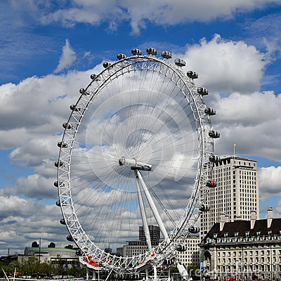 The London Eye, London, UK Editorial Stock Image