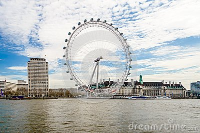 The London Eye Panoramic Wheel