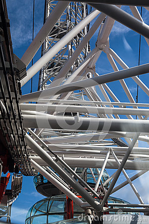 The London Eye Structure Editorial Image