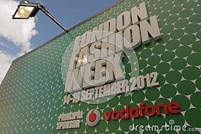 London Fashion Week Editorial Image