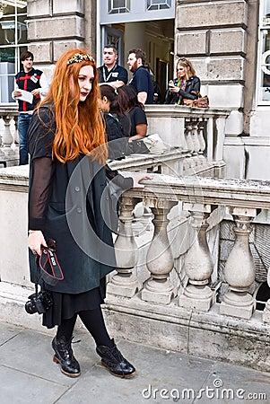 London Fashion Week at Somerset House Editorial Image
