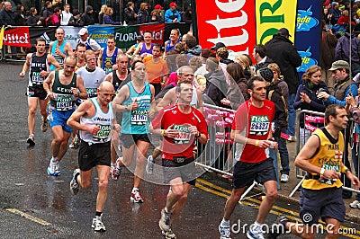 London Flora Marathon Editorial Image