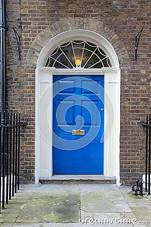 Free London Georgian Door Royalty Free Stock Photography - 36347547