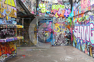 London graffiti Editorial Stock Photo