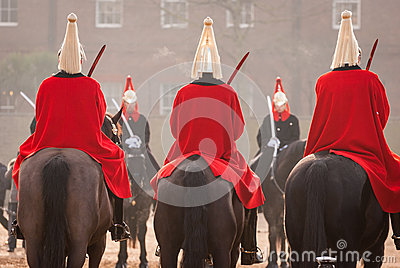 London guards Stock Photo