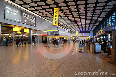 London Heathrow Editorial Photo