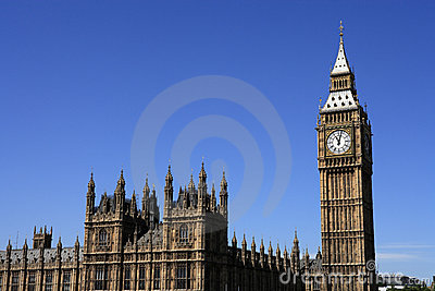 London, Houses of Parliament and Big Ben