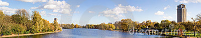 london Hyde park summer panorama view
