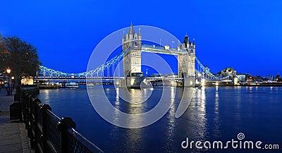 London-Kontrollturm-Brücke