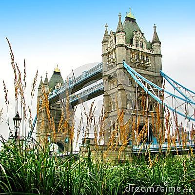 London-Kontrollturmbrücke