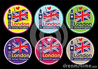 London landmark icon