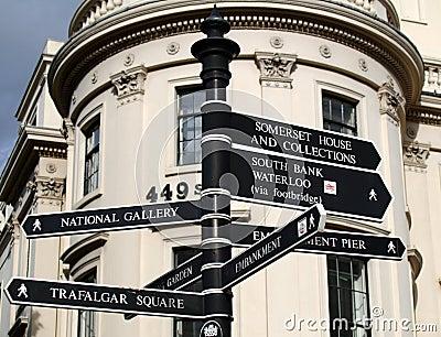 London Landmark Signs