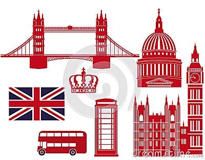 london landmarks graphics stock photography image 34678792. Black Bedroom Furniture Sets. Home Design Ideas