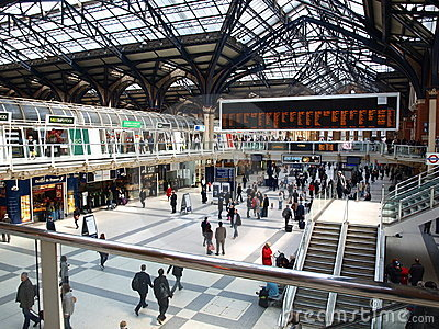London Liverpool Street Station Editorial Photography