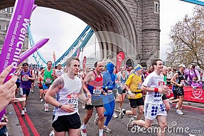London marathon Editorial Image