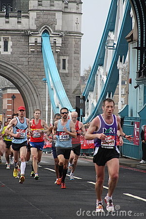 London marathon 2010. Editorial Photography