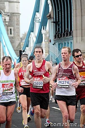 London marathon 2010. Editorial Photography