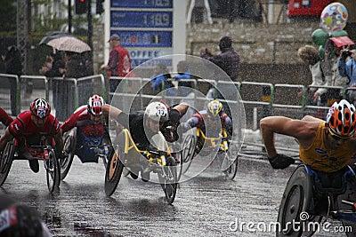 London Marathon, 2010 Editorial Stock Photo