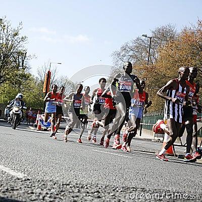 London Marathon, 2012 Editorial Photo