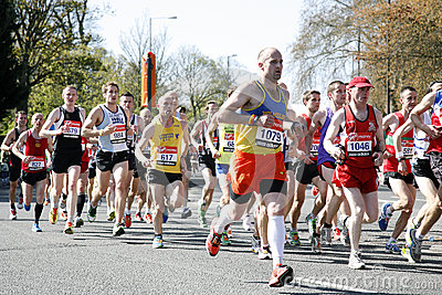 London Marathon, 2012 Editorial Stock Photo