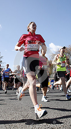 London Marathon, 2012 Editorial Photo