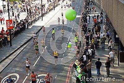 London Marathon Editorial Stock Image