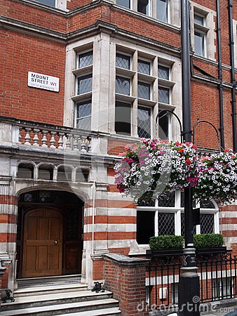 London, Mayfair townhouse