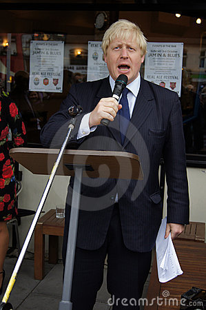 Free London Mayor Boris Johnson Stock Image - 16431021
