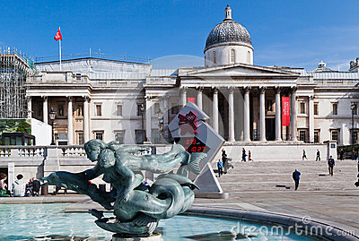 London National Gallery Editorial Stock Photo