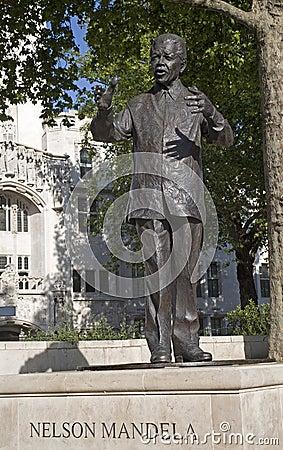London - Nelson Mandela memorial Editorial Photography