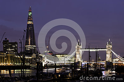 London by night Editorial Stock Photo