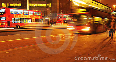 London night traffic Editorial Photography
