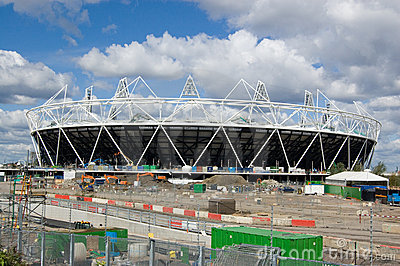 London Olympic Stadium Editorial Image