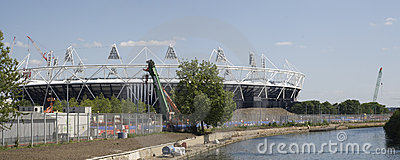 London Olympic Stadium 2012 Editorial Photography