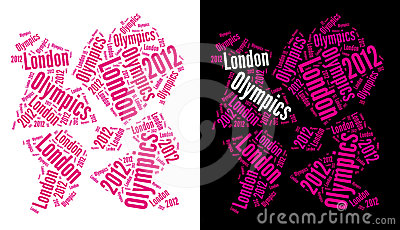 London Olympics 2012 Logo Editorial Stock Image