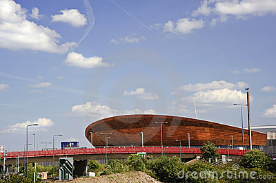 London Olympics 2012 velodrome is completed Editorial Image