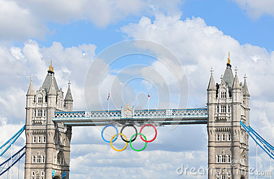 London Olympics Editorial Stock Image