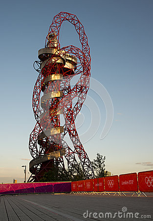 London OS:er 2012 Redaktionell Arkivbild