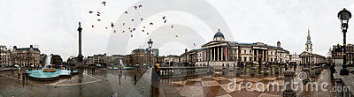 London panoramic Editorial Stock Image