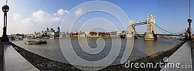 London panoramic view