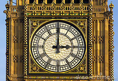 London - parliament clock tower