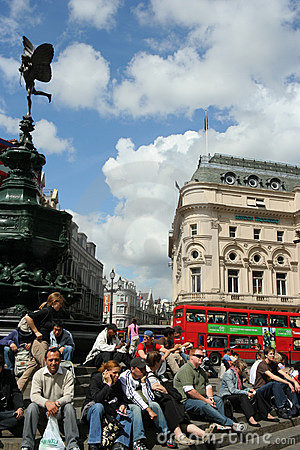 London Piccadilly Circus Editorial Photo