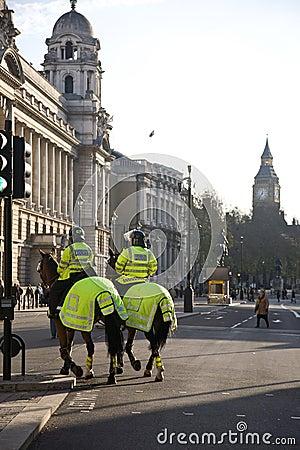 London Police Editorial Photo