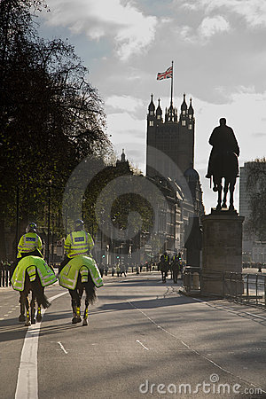 London Police Editorial Photo