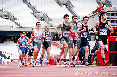 London prepares: Olympic test events Editorial Photography