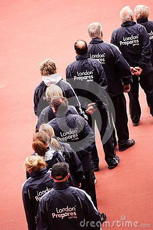 London prepares: Olympic test events Editorial Stock Photo