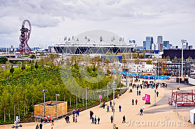 London prepares: Olympic test events Editorial Image